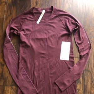 Lululemon Swifty LS Crew Reflective Long-sleeve